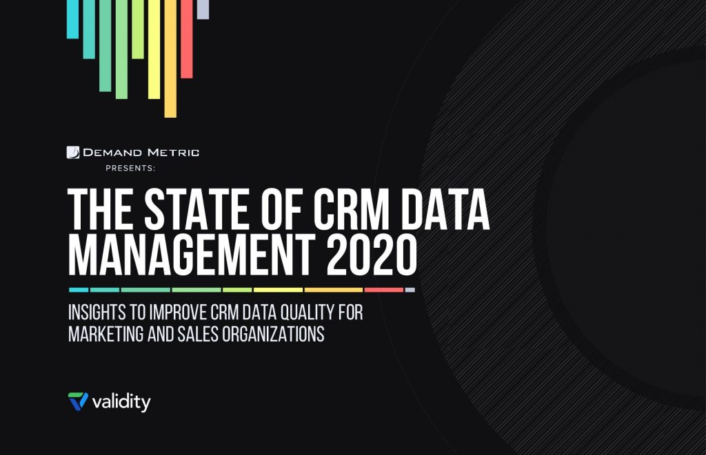 The State of CRM Data Management 2020