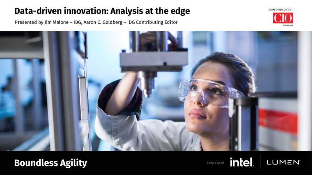 Data-Driven Innovation: Analysis at The Edge