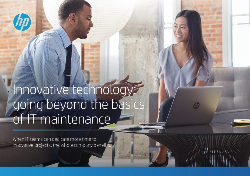 Innovative Technology: Going Beyond the Basics of IT Maintenance Article
