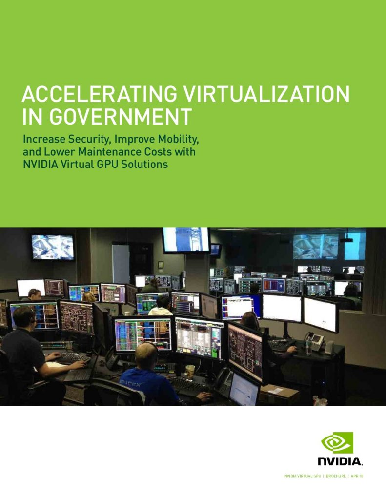 ACCELERATING VIRTUALIZATION IN GOVERNMENT