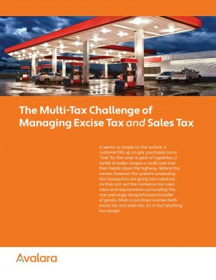 The Multi-Tax Challenge of Managing Excise Tax and Sales Tax: