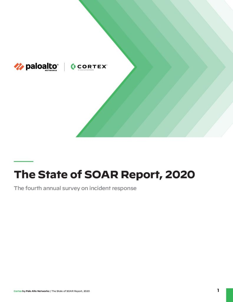 The State of SOAR Report, 2020