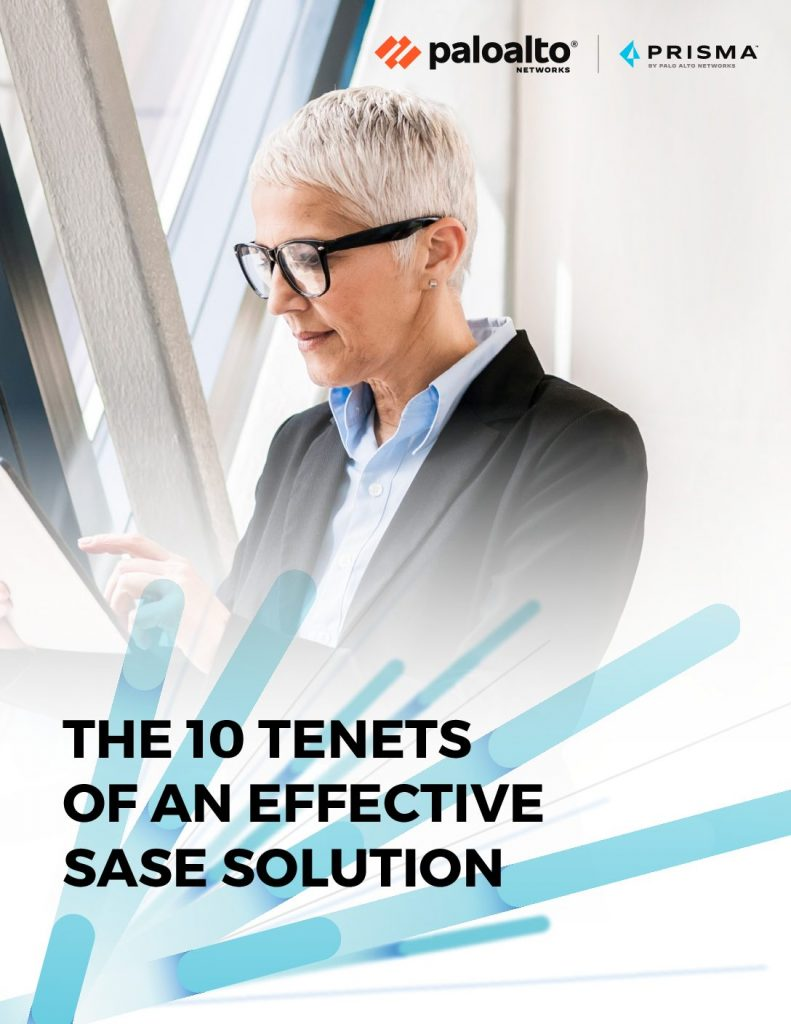 THE 10 TENETS OF AN EFFECTIVE SASE SOLUTION