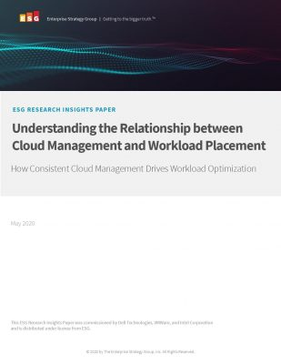 Understanding the Relationship Between Cloud Management and Workload Placement