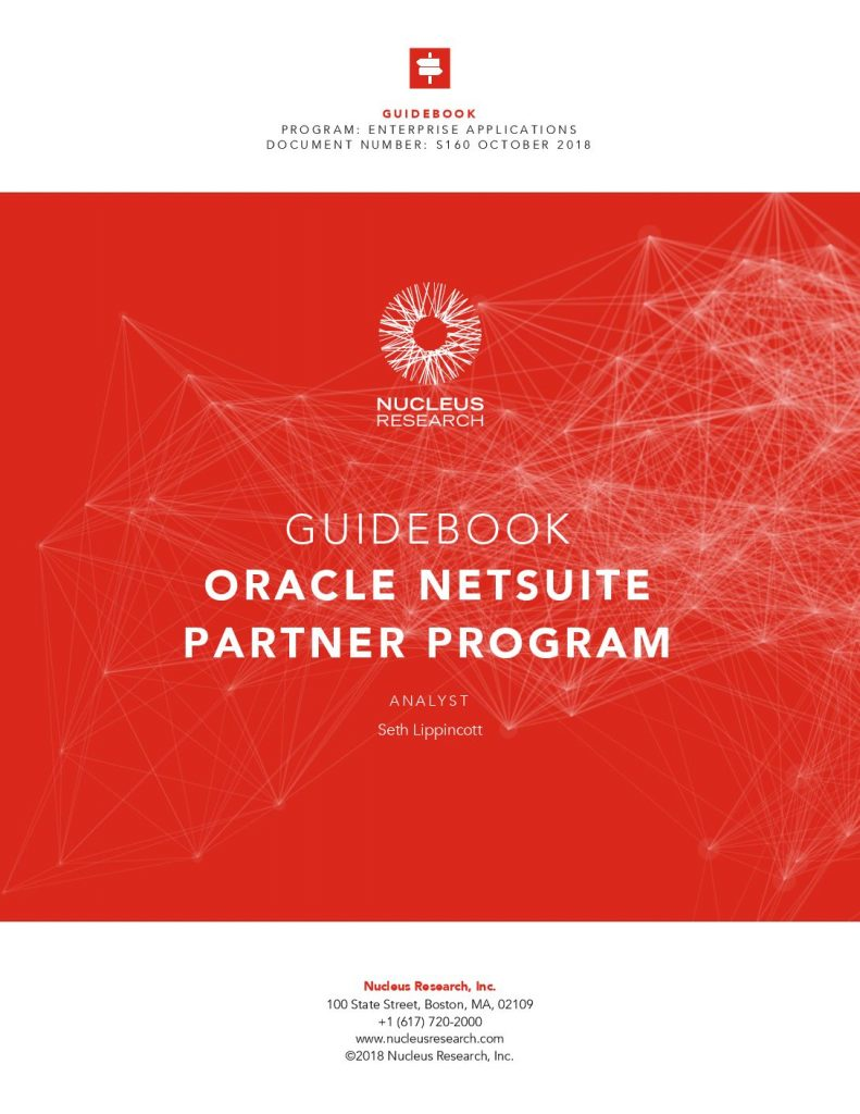 Guide-book Oracle NetSuite Partner Program