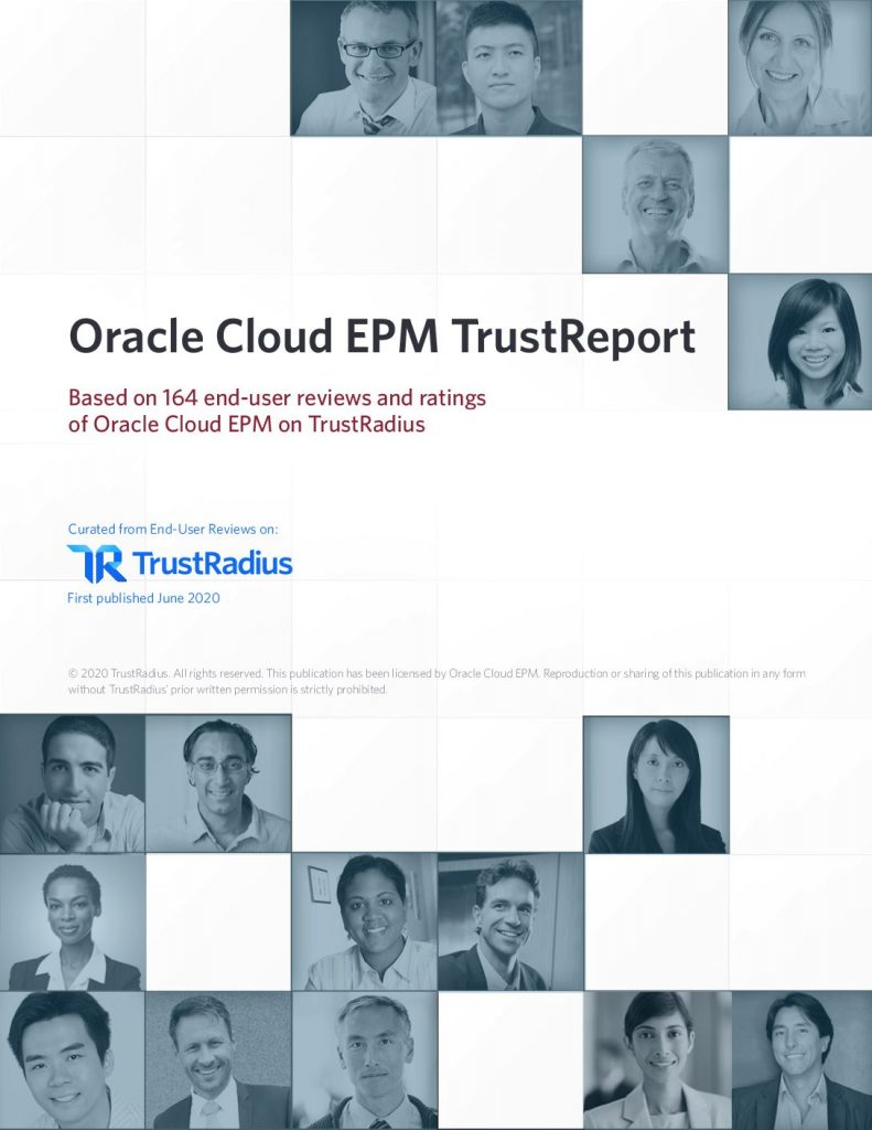 Oracle Cloud EPM TrustReport