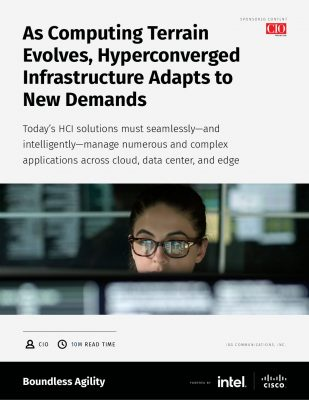 As Computing Terrain Evolves, Hyperconverged Infrastructure Adapts to New Demands