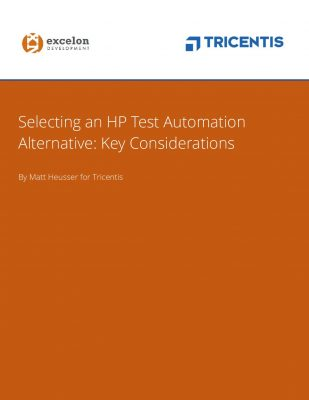 Selecting An HP Test Automation Alternative: Key Considerations