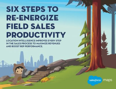 6 Steps to Re-Energize Field Sales Productivity