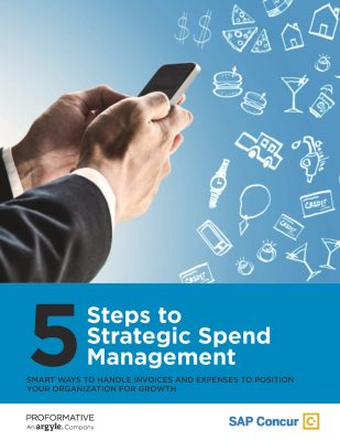 5 Steps to Strategic Spend Management