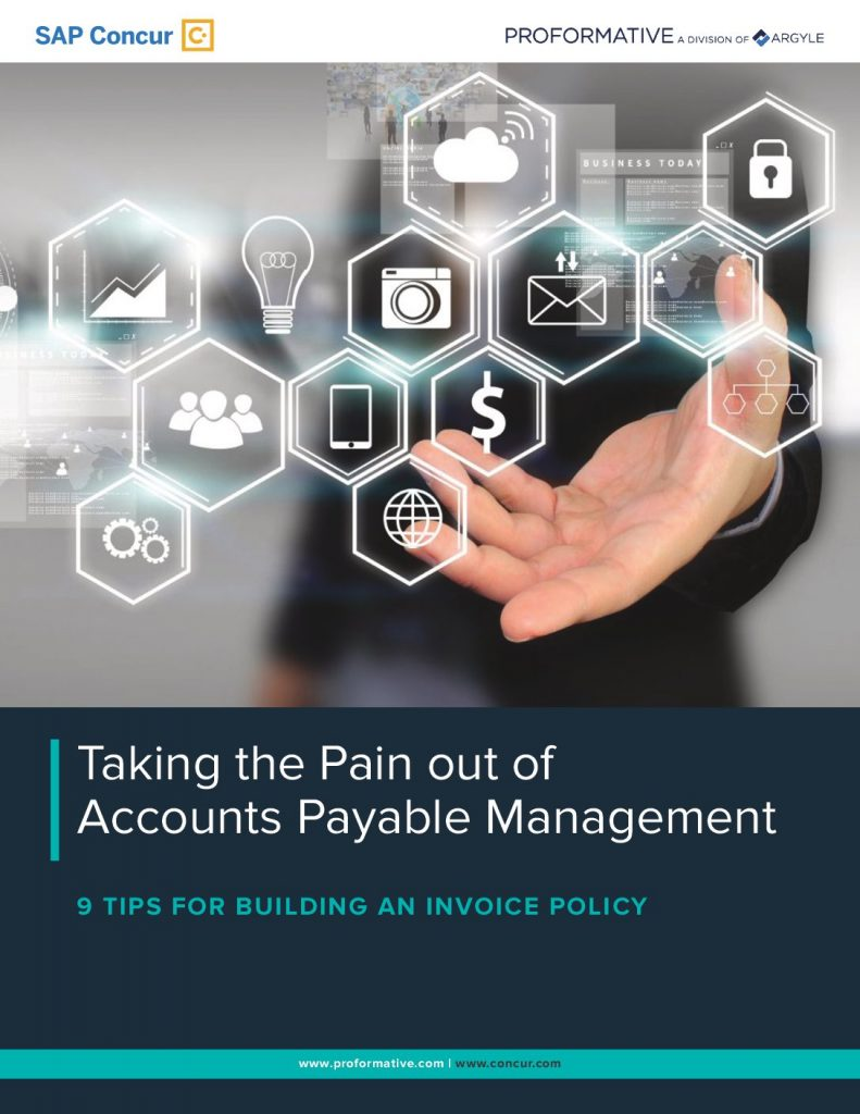 Taking the Pain Out of Accounts Payable Management, 9 Tips for Building an Invoice Policy