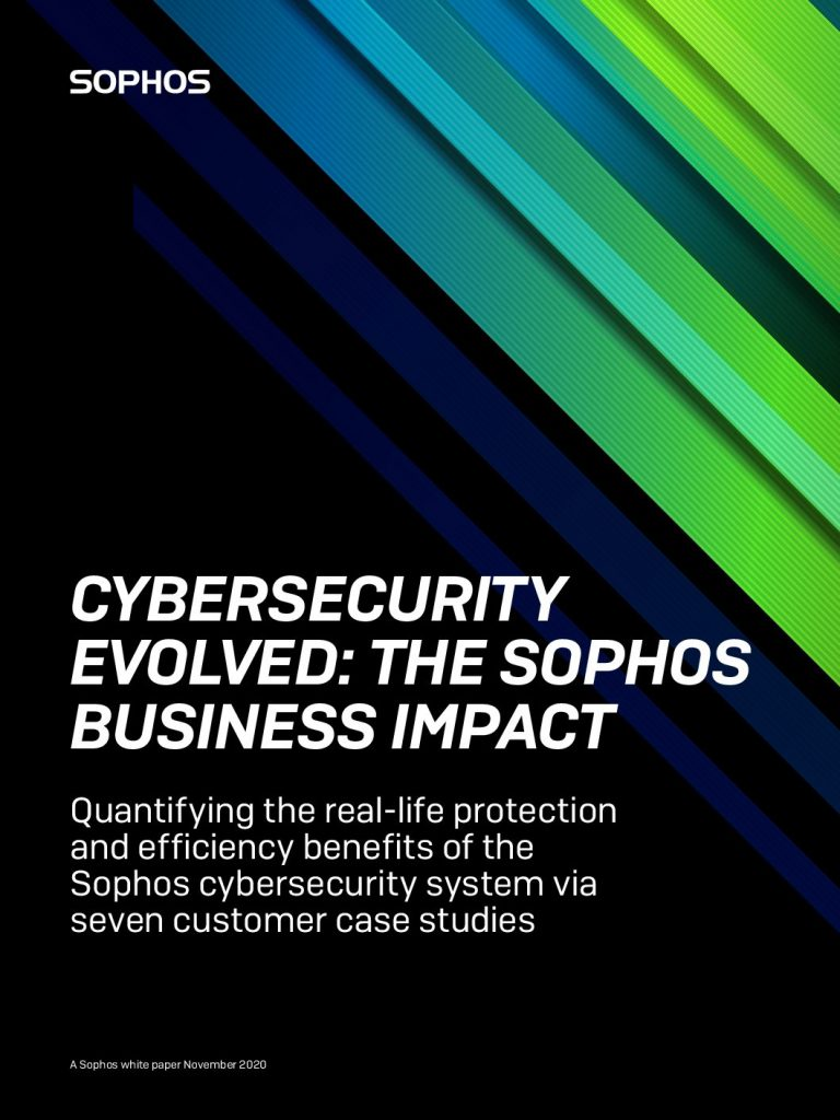 Cybersecurity Evolved: The Sophos Business Impact