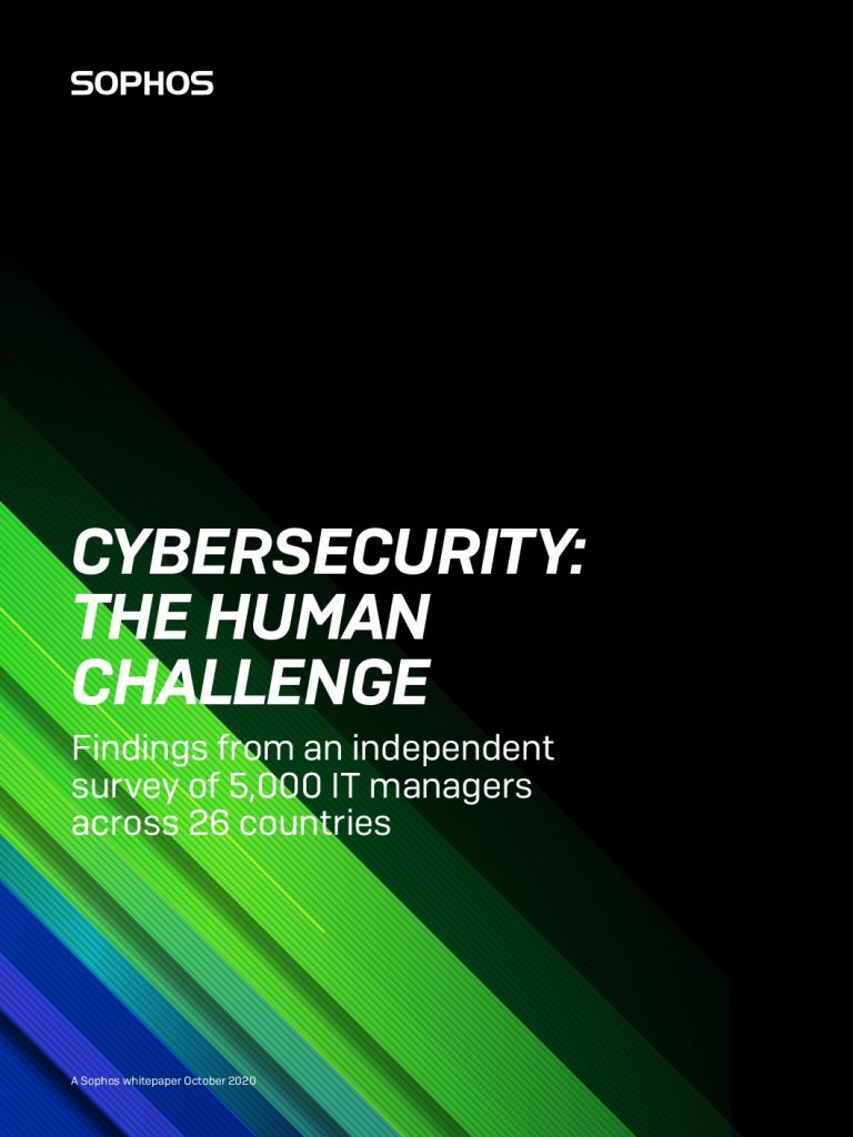 Cybersecurity: The Human Challenge
