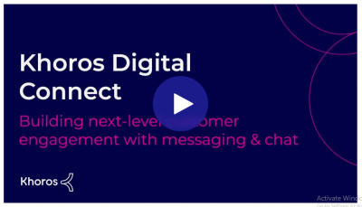 Building Next-Level Customer Engagement With Messaging  and  Chat