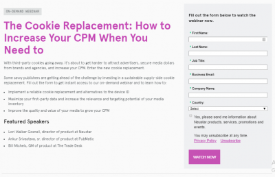The Cookie Replacement: How to Increase Your CPM When You Need to