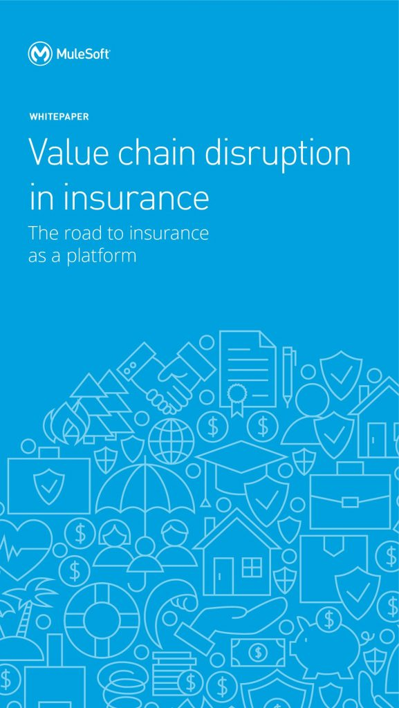 Value chain disruption in insurance