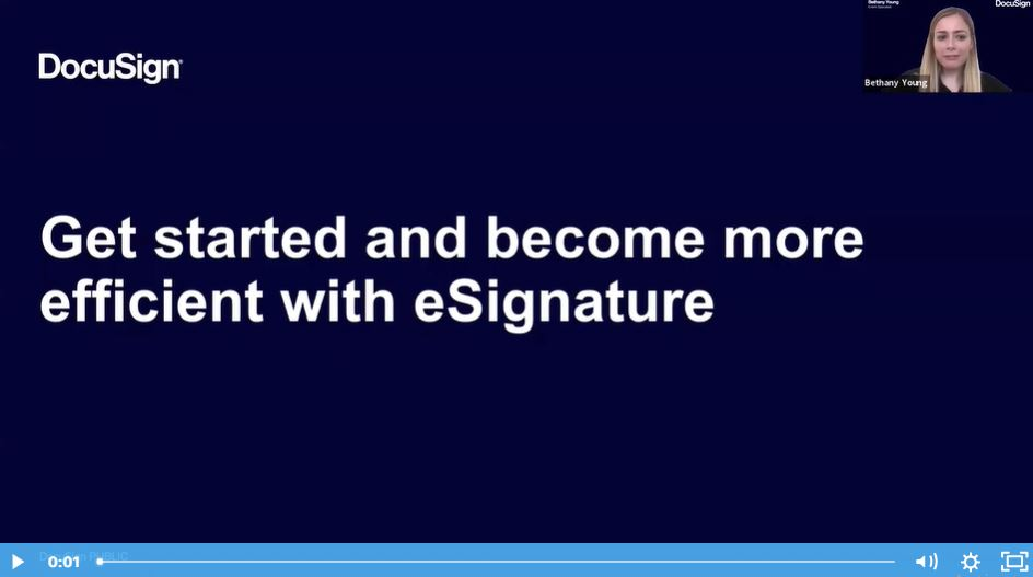 Get Started And Become More Efficient With eSignature