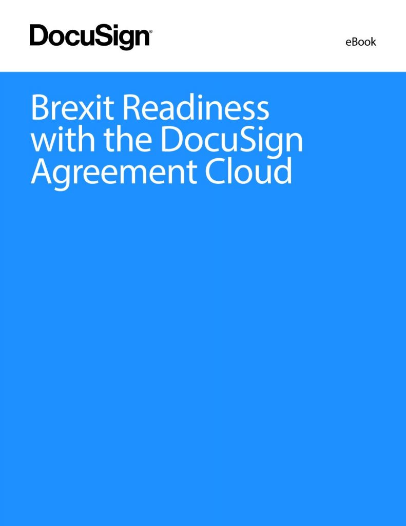 Brexit Readiness with the DocuSign Agreement Cloud
