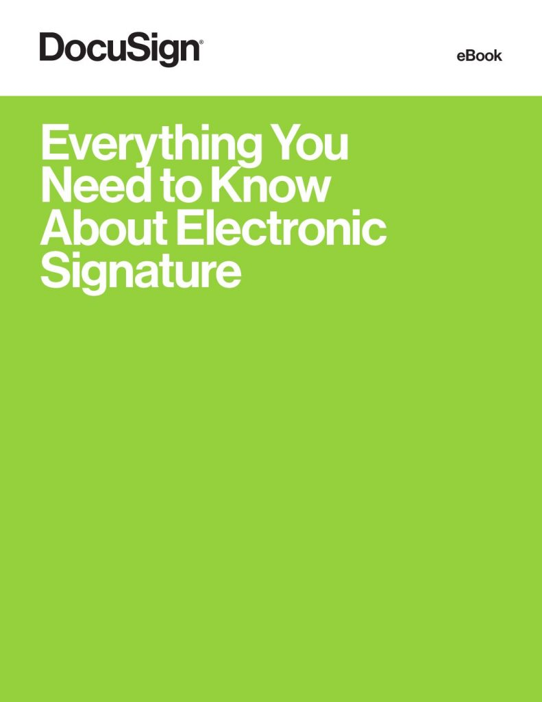 Everything You Need To Know About eSignature
