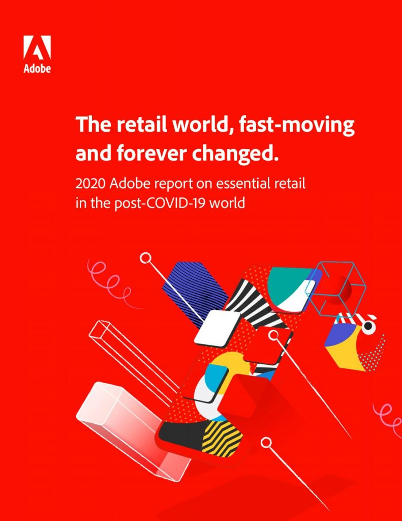 The retail world, fast-moving and forever changed.