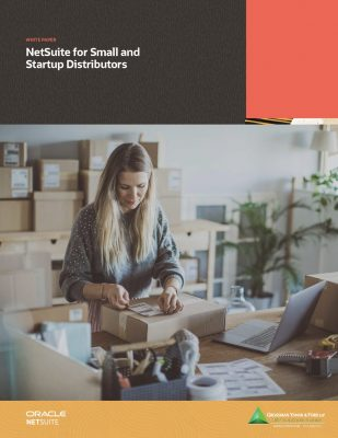 NetSuite for Small and Startup Distributors