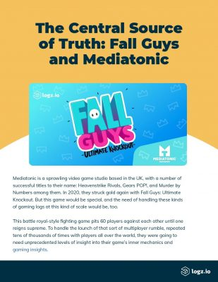 The Central Source of Truth: Fall Guys and Mediatonic