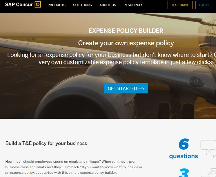Expense Policy Builder