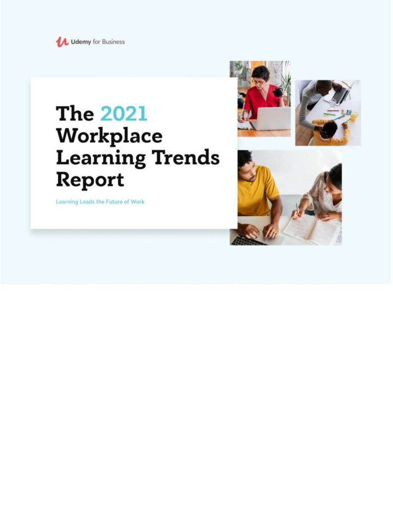 The 2021 Workplace Learning Trends Report