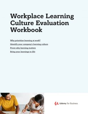 Learning Culture Evaluation Workbook