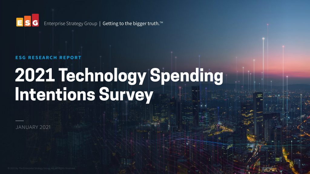 2021 Technology Spending Intentions Survey