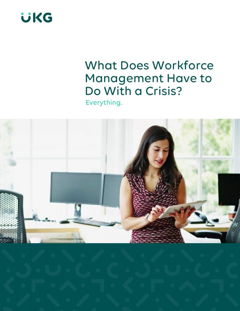 What Does Workforce Management Have to Do With a Crisis?