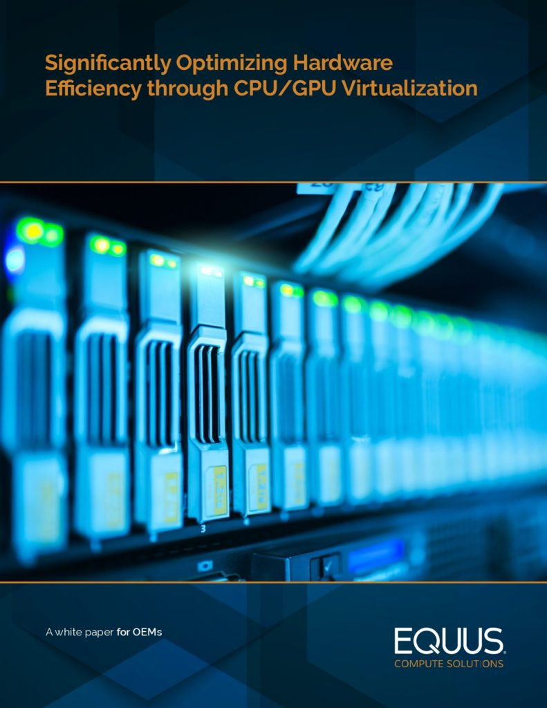 Significantly Optimizing Hardware Efficiency through CPU/GPU Virtualization