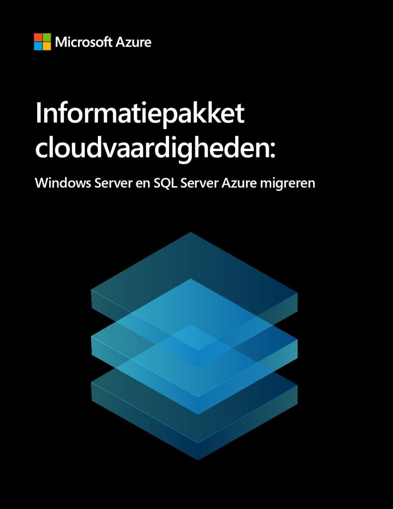 Resourcekit voor cloudvaardigheden: Windows Server and SQL Server migreren