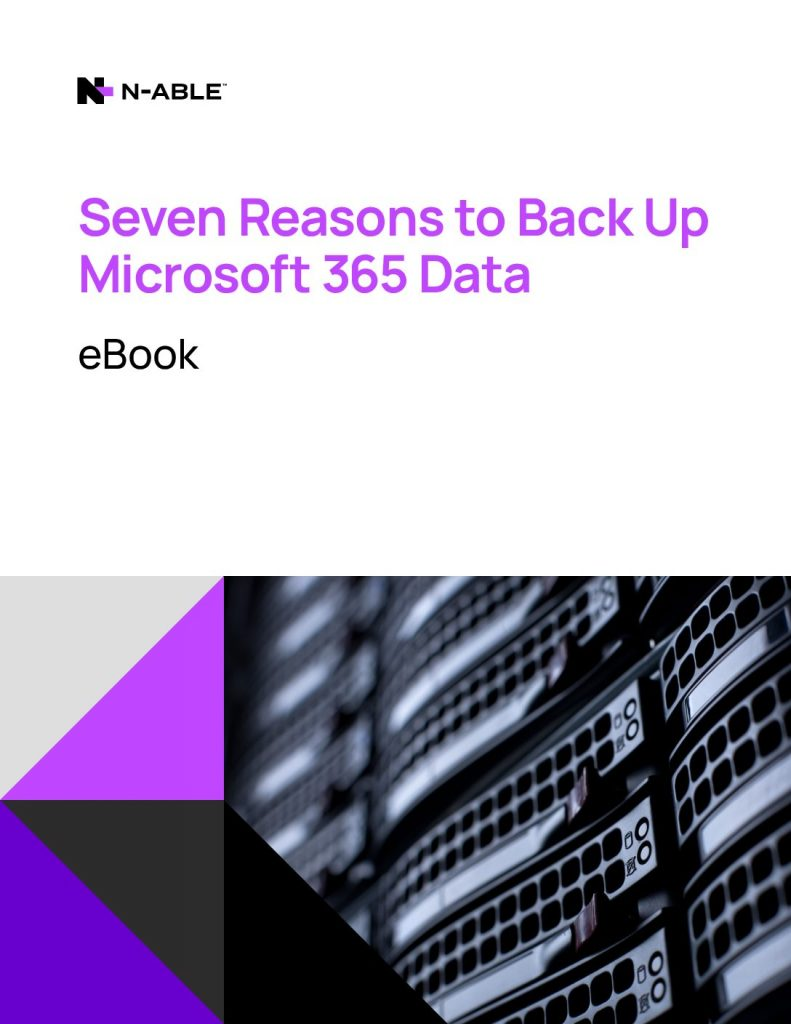 Seven Reasons to Back Up Microsoft 365 Data