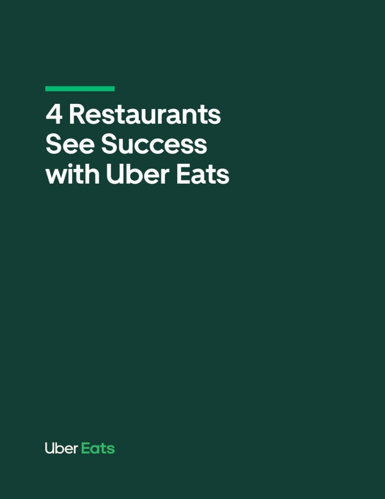4 Restaurants See Success with Uber Eats