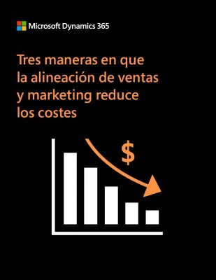 Tres maneras en que la alineación de ventas y marketing reduce los costes
