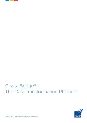 Crystalbridge - ?The Data Transformation Platform Merge