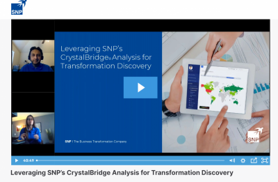 Leveraging SNP's CrystalBridge Analysis for Transformation Discovery