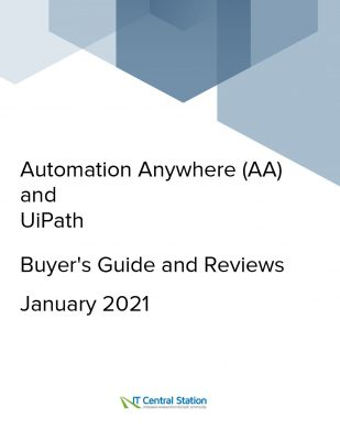 Automation Anywhere (AA) and UiPath Comparison