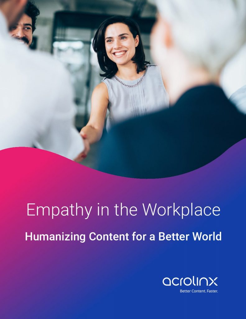 Empathy in the Workplace Humanizing Content for a Better World
