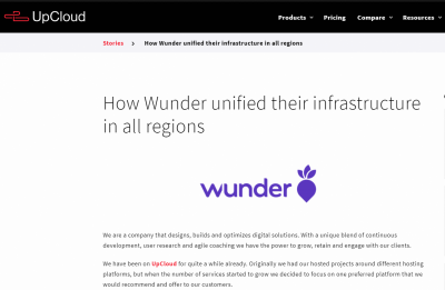 How Wunder unified their infrastructure in all regions