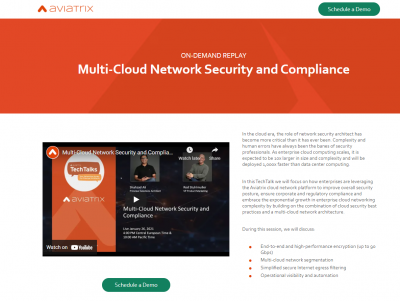 Multi-Cloud Network Security and Compliance
