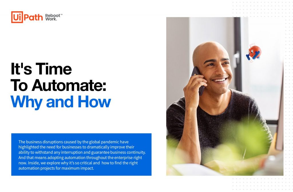 It's Time To Automate: Why and How
