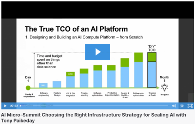 AI Micro-Summit Choosing the Right Infrastructure Strategy for Scaling AI with Tony Paikeday