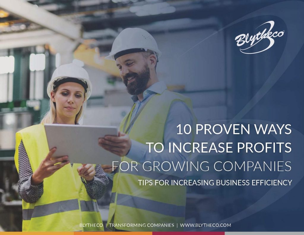 10 PROVEN WAYS TO INCREASE PROFITS FOR GROWING COMPANIES