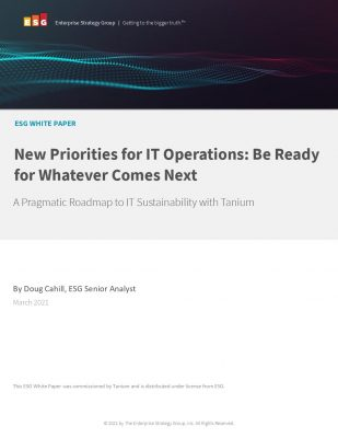 New Priorities for IT Operations: Be Ready for Whatever Comes Next