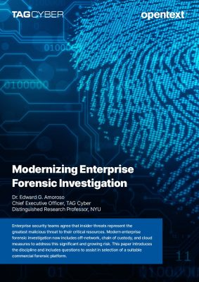 Modernizing Enterprise Forensic Investigation