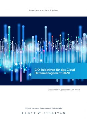 CIO‑Initiativen für das Cloud- Datenmanagement 2020