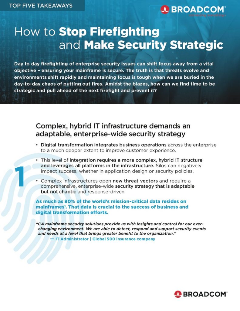 2 How to Stop Firefighting and Make Security Strategic