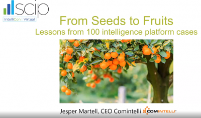 From Seeds to Fruits: Lessons from 100 Intelligence Platform Cases